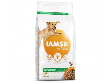 IAMS adult large chicken dogee