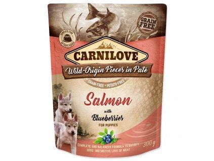 kapsička carnilove pre psy losos