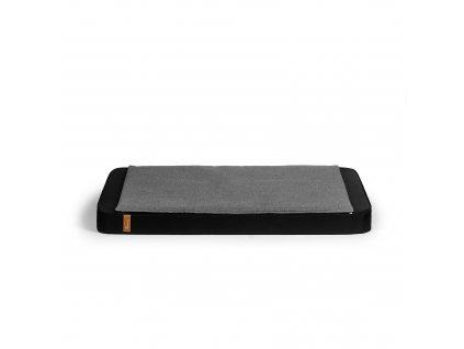 REXZIPBL2 Black, cover dark grey melange (1)
