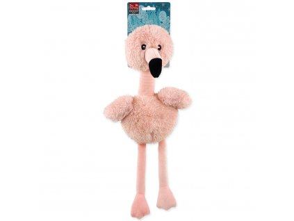 dog fantasy viamocna hracka pre psa plameniak 30cm