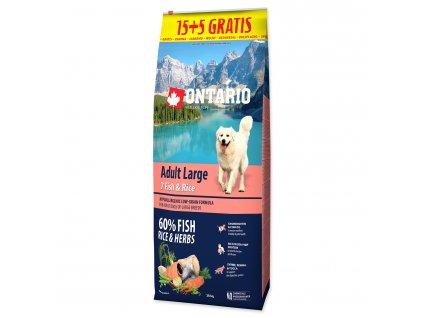 ontario fish rice 15+5kg dogee large
