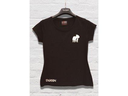 Produktovka černé tričko dámské