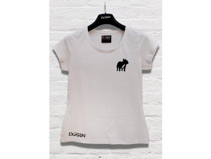 Produktovka tričko bílé dámské
