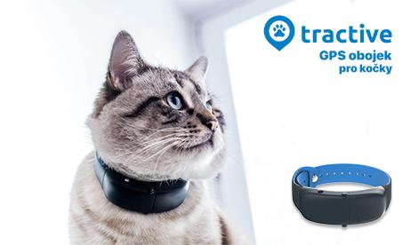 Tractive GPS obojek pro kočky
