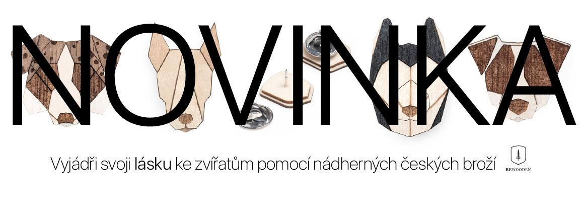 Chci vidět české brože BeWooden