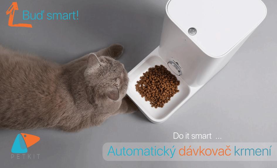 PetKit, automatický dávkovač krmení
