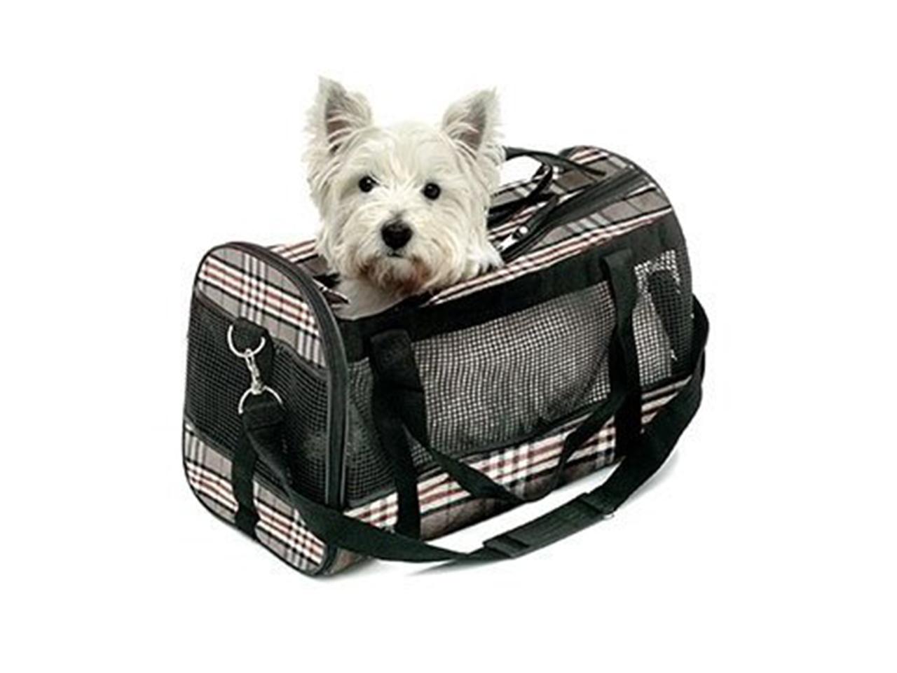Přenosné tašky pro psy