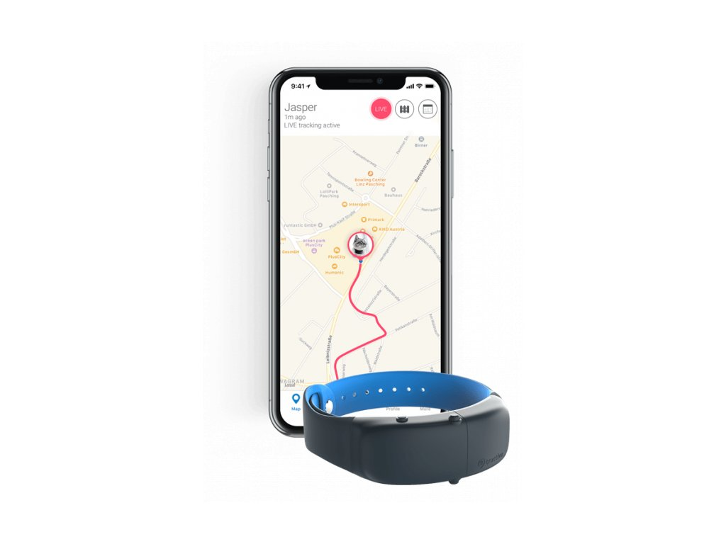 tractive cat tracker phone and gps device