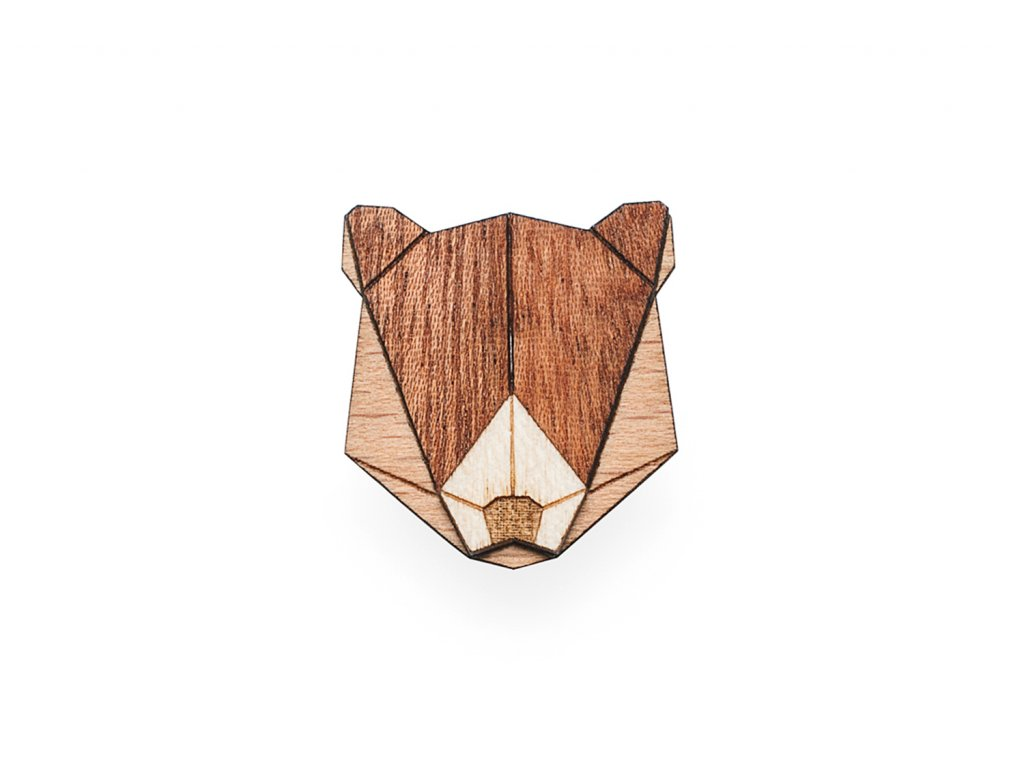 0 Bear brooch cover