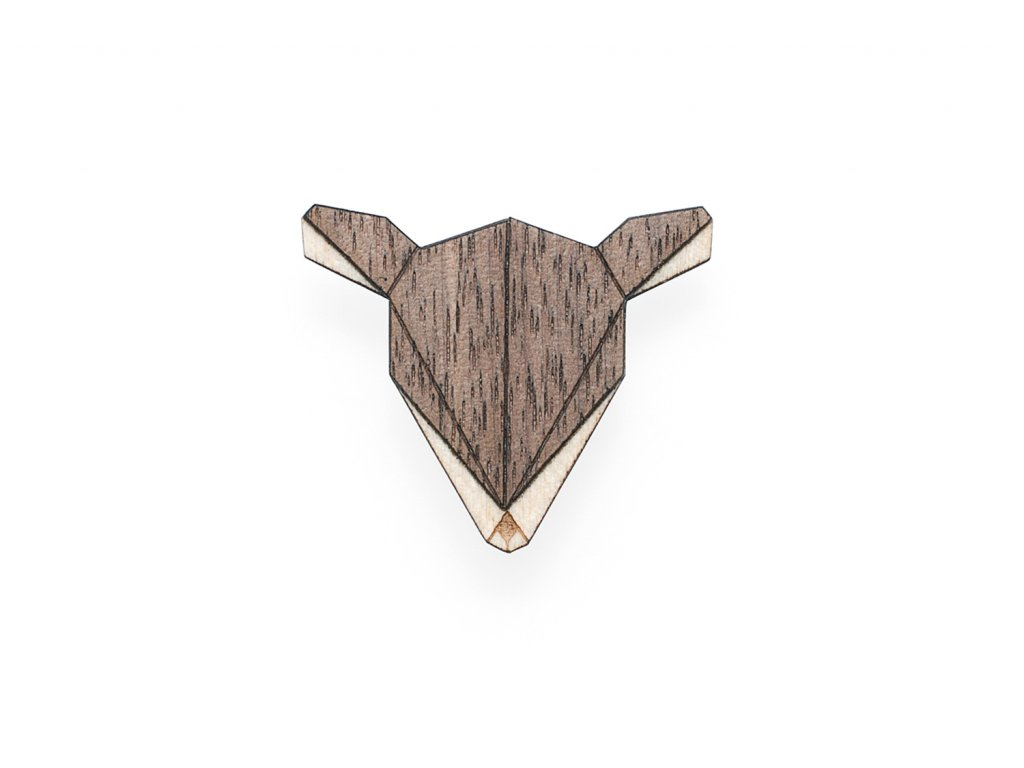 0 Doe brooch cover