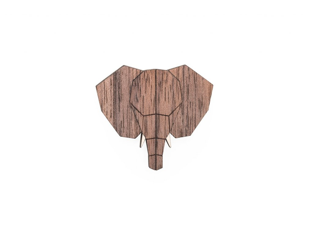 0 Elephant brooch cover