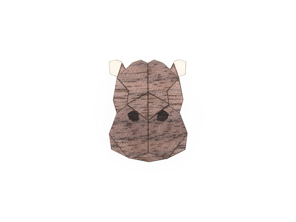 0 Hippo brooch cover