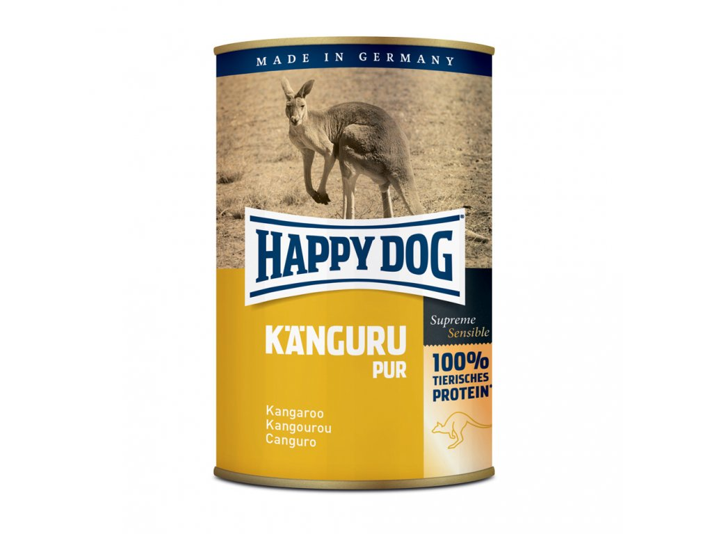 Happy Dog Känguru Pur - klokaní 400 g