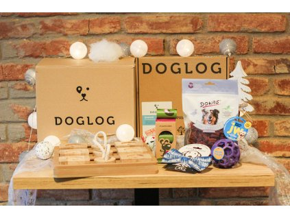 DOGLOG Xmas Dog Box