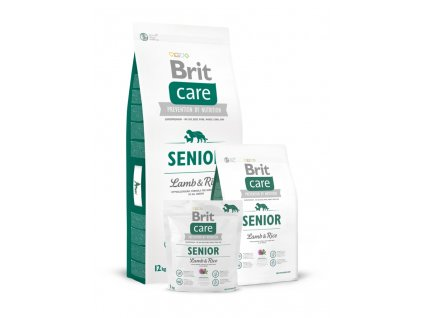 Brit Care Dog Granule Senior Lamb & Rice 12kg