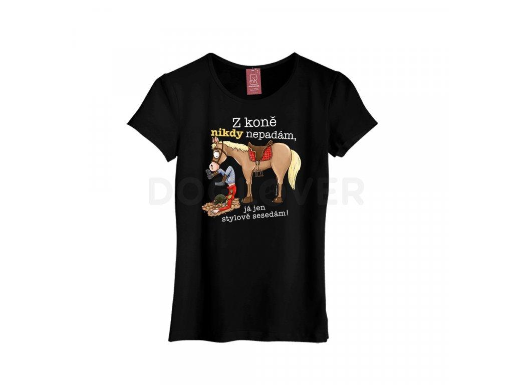 z kone nepadam cerne
