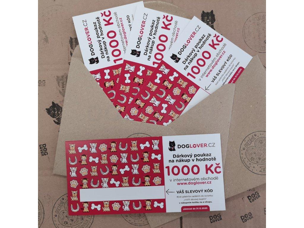 poukaz 1000 kc