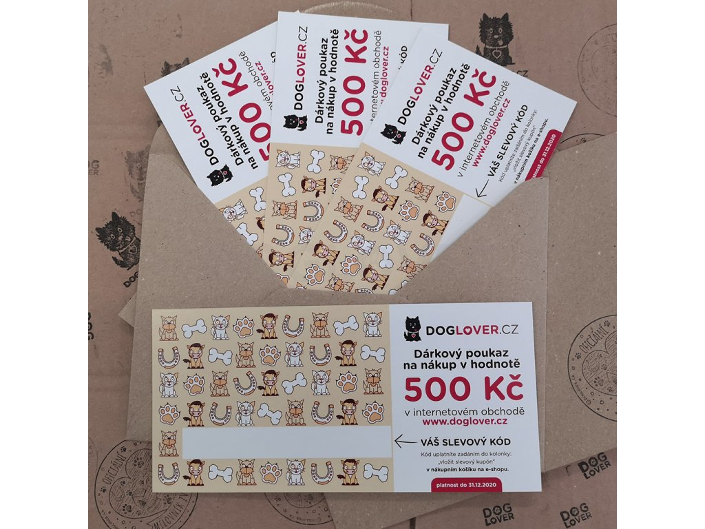 poukaz 500 kc