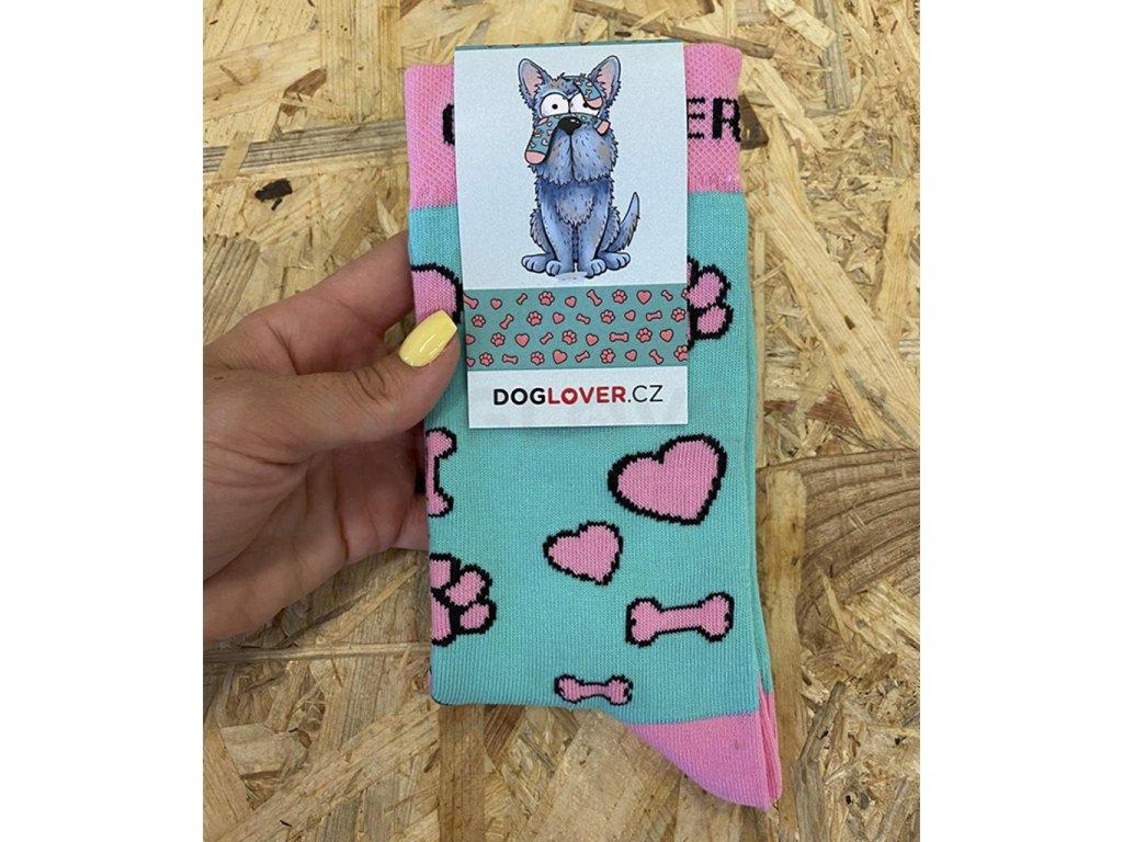 ponozky doglover2 label
