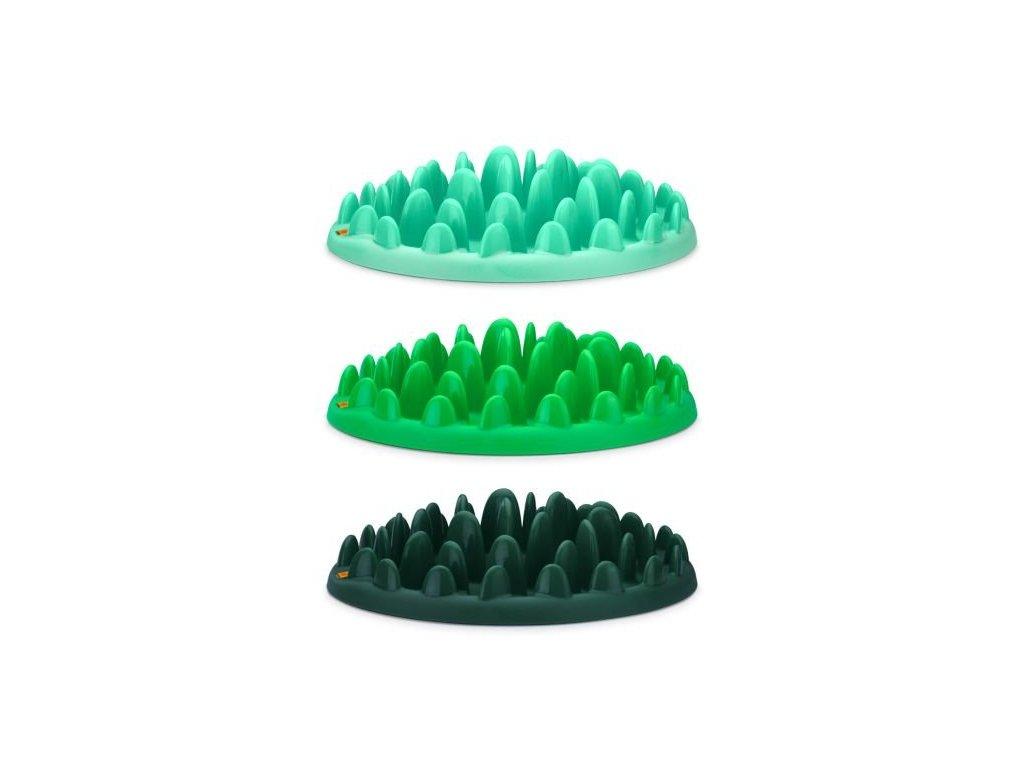 Miska Northmate interaktivni zelena 40x30x10cm 0905201714334794204