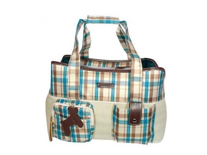 14001 cestovni taska pro psa doogy blue