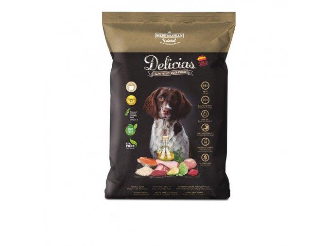 15372 polovlhke krmivo delicias adult semi moist 1 5 kg