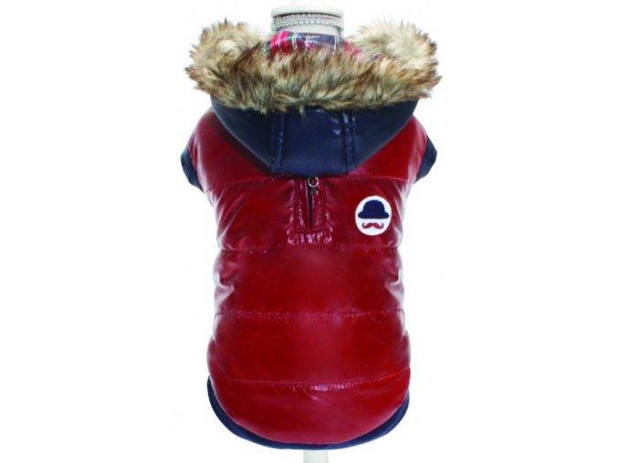 CROCI Moustache zimní bunda pro psy (Velikost výrobku 40)