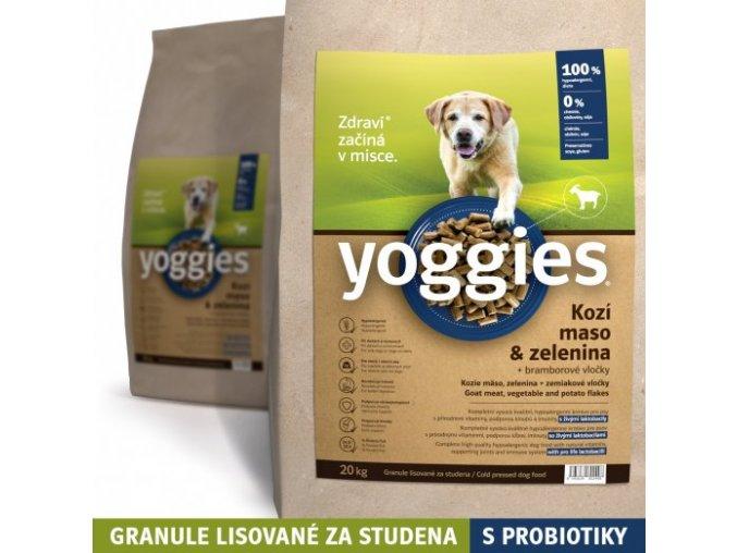 1 2kg yoggies hypoalergenni granule s kozim masem lisovane za studena