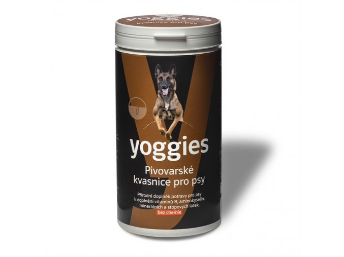 yoggies pivovarske kvasnice pro psy 1000g