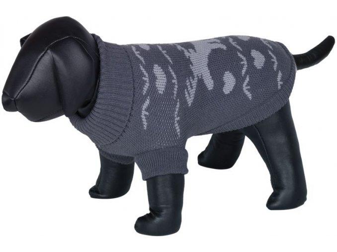 Nobby HIRSCHI svetr pro psy se sobem šedá (Velikost výrobku 36)
