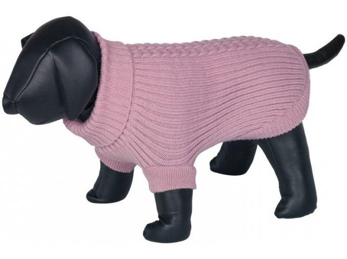 19856 nobby zopf svetr pro psy ruzova 36cm