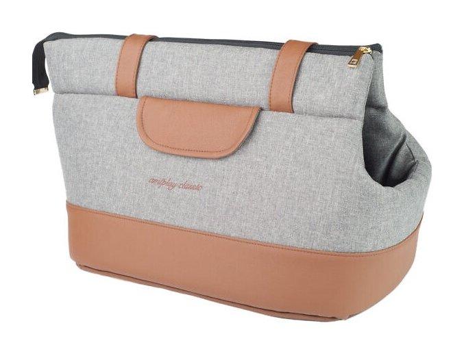 02. Pet Carrier Bag Classic Light grey