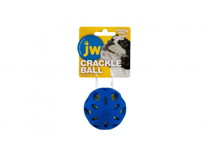 JW Míček Crackle Heads modrý (Velikost výrobku S)