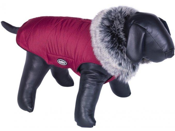 Nobby ADUA obleček pro psa červená s kožíškem (Velikost výrobku 29)