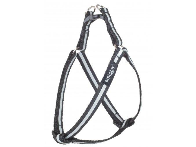 01. Adjustable Harness Shine Black