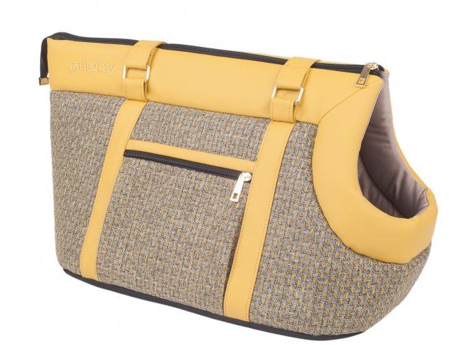 04. Pet Carrier Bag Morgan Yellow