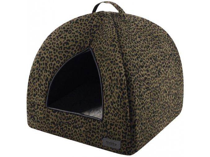 27553 nobby leo kukan leopard hneda 38x38x38cm
