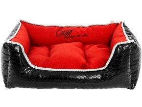 black diamond pet bed red lrg