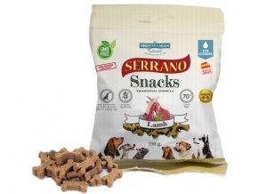 Tréninkové kostičky Serrano Snacks jehněčí 100 g