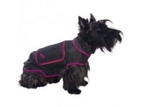 Pláštěnka pro psy Bobby NOIR  36 cm