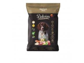 Polovlhké krmivo Delicias Adult SEMI-MOIST  1,5 kg