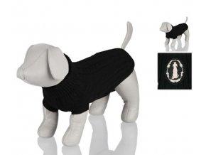 Trixie černý svetr King of Dogs (Velikost výrobku XS 30cm)