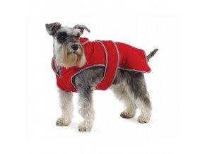 Ancol Zimní vesta MuddyPaws Stormguard červená (Velikost výrobku XXL 70cm)