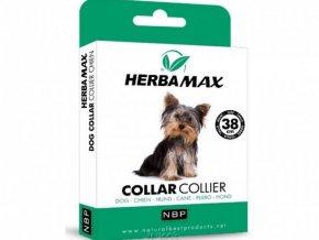 17124 1 herba max dog collar 38cm antiparazitni obojek