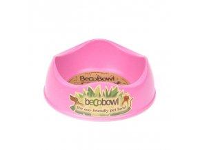 17214 beco bowl ruzova miska eko pink m 21cm