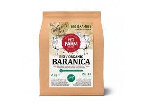 Bio granule pro Pet Farma Family baranica 2kg
