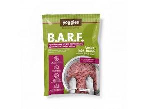 500 g yoggies b a r f losos kun kralik s probiotiky a kloubni vyzivou