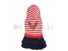 oblecek doggydolly s kapuci a sukni (1)