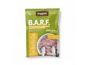 500 g yoggies b a r f 100 kruta s probiotiky a kloubni vyzivou
