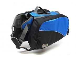outward hound dog backpack blue